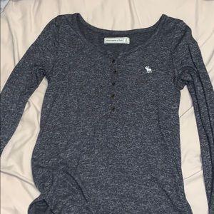 abercrombie gray top